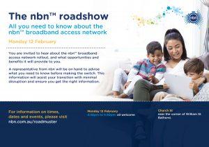 Bathurst nbn Roadshow