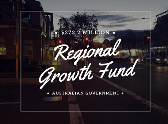 Regional Growth Fund, Australian Government